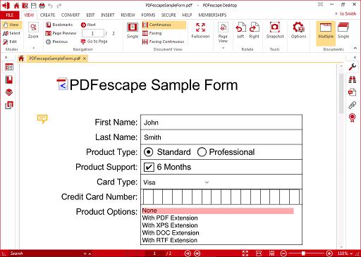 PDFescape Logo