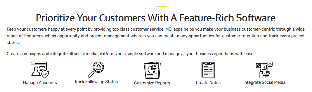 MCi Apps CRM