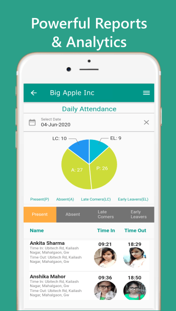 UbiTech Attendance Management Software